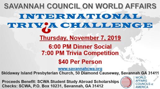 SCWA Trivia 2019