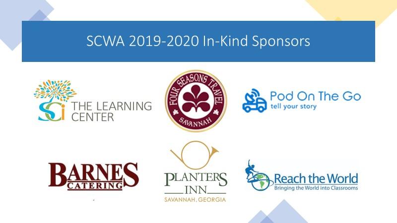 2019-2020 SCWA In-Kind Sponsors